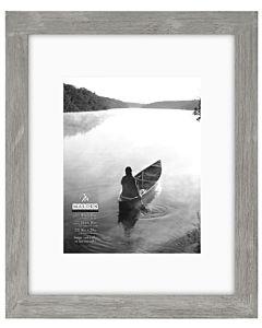 Malden Designs - Manhattan Gray Frame - 16x20 Opening, 11x14 Mat