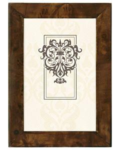 Malden Designs - Burlwood Dark Walnut Frame 4x6