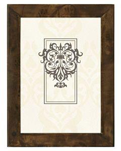 Malden Designs - Burlwood Dark Walnut Frame 5x7