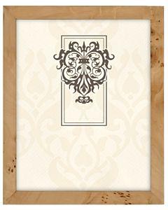 Malden Designs - Burlwood Natural Woodgrain Frame 8x10
