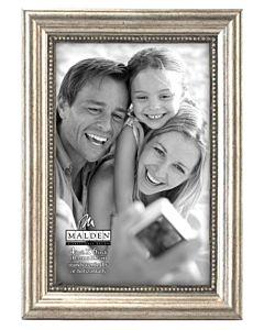 Malden Designs - Silver Bead Frame 4X6