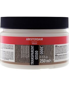 Amsterdam Acrylic Color - Transparent Gesso - 250ml