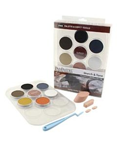 PanPastel Soft Pastels - Sketch Set of 7