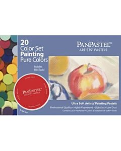 PanPastel Soft Pastels - Set of 20 Painting