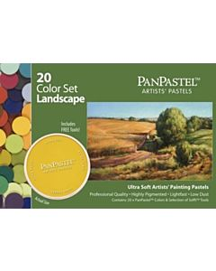 PanPastel Soft Pastels - Set of 20 Colors Landscape