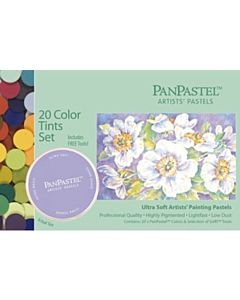 PanPastel Soft Pastels - Set of 20 Colors Tints