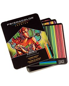 Prismacolor Premier Colored Pencils Tin Set of 72 - Assorted Colors