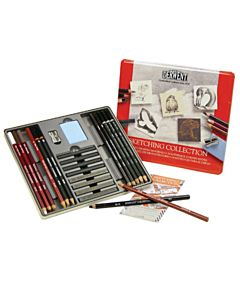 Derwent Sketching Tin Set of 24