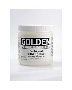 Golden Gel Topcoat Gloss 8oz