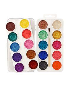Semi Moist Watercolor Pearl Set 20