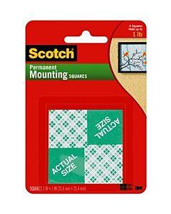 Scotch #111 Permanent Mount Squares