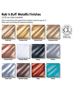 Rub N Buff Silver Leaf