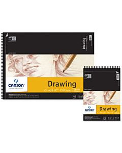 "Canson Pad Classic Drawing 11x14"" - Cream"