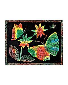 Scratch Art Paper Multicolor 50 Sheets
