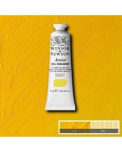 Winsor & Newton Artists' Oil Color 37ml - Chromium Yellow Hue