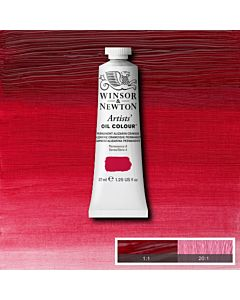 Winsor & Newton Artists' Oil Color 37ml - Perm. Alizarin Crimson Hue