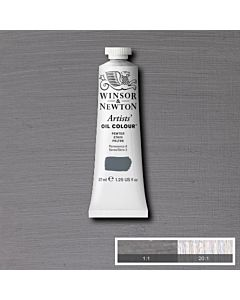 Winsor & Newton Artists' Oil Color 37ml - Pewter