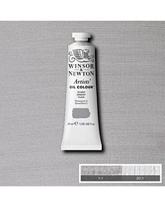 Winsor & Newton Artists' Oil Color 37ml - Silver