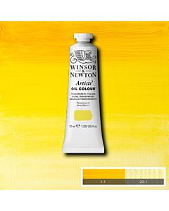 Winsor & Newton Artists' Oil Color 37ml - Transparent Yellow