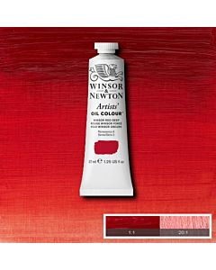 Winsor & Newton Artists' Oil Color 37ml - Winsor Red Deep
