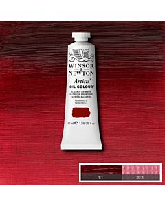 Winsor & Newton Artists' Oil Color 37ml - Alizarin Crimson