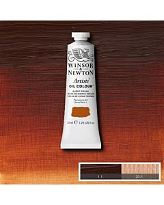 Winsor & Newton Artists' Oil Color 37ml - Burnt Sienna