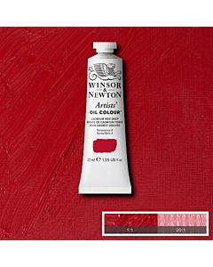 Winsor & Newton Artists' Oil Color 37ml - Cadmium Red Deep