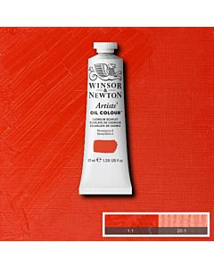 Winsor & Newton Artists' Oil Color 37ml - Cadmium Scarlet