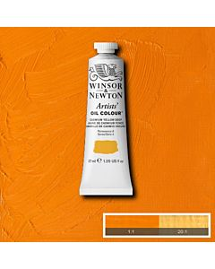 Winsor & Newton Artists' Oil Color 37ml - Cadmium Yellow Deep