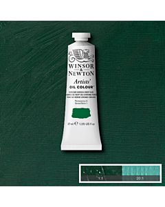 Winsor & Newton Artists' Oil Color 37ml - Chrome Green Deep Hue