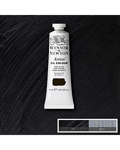 Winsor & Newton Artists' Oil Color 37ml - Ivory Black