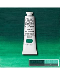 Winsor & Newton Artists' Oil Color 37ml - Permanent Green Deep