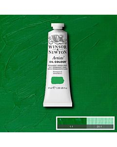 Winsor & Newton Artists' Oil Color 37ml - Permanent Green Light