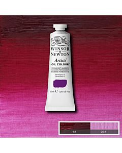 Winsor & Newton Artists' Oil Color 37ml - Permanent Magenta