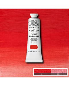 Winsor & Newton Artists' Oil Color 37ml - Winsor Red