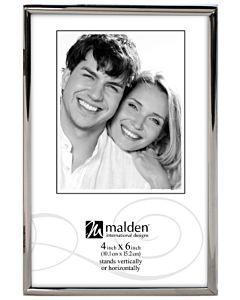 Malden Designs - Simplicity Silver Frame 4x6