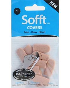 PanPastel Tools - No 1 Round Covers (10)