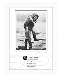 Malden Designs - Concepts Wood White Frame 5x7