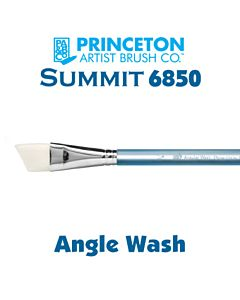 Princeton Series 6850 Summit Synthetic Short Handle - Angle Wash - Size 3/4""