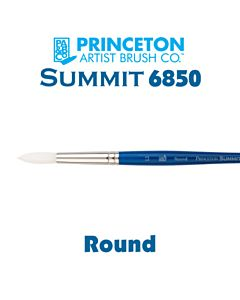 Princeton Series 6850 Summit Synthetic Short Handle - Liner - Size 4