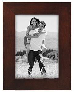 Malden Designs - Linear Dark Walnut Frame 3 1/2 x 5