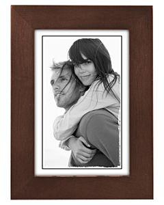Malden Designs - Linear Dark Walnut Frame 4x6