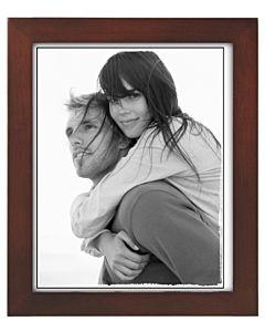 Malden Designs - Linear Dark Walnut Frame 8x10