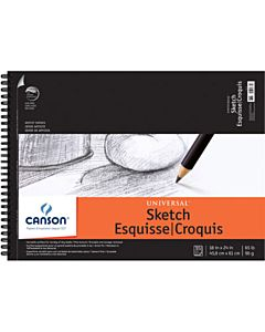 Canson Universal Sketch Pad 18x24
