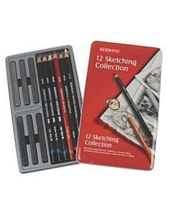 Derwent 12-Piece Sketching Collection