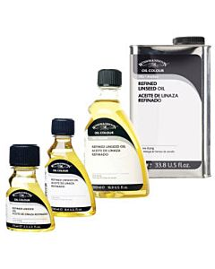 Winsor & Newton Refined Linseed Oil 1000ml
