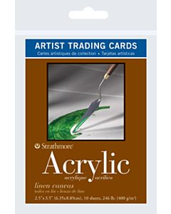 Strathmore Acrylic Artist Trading Cards 1 Pack (10 Cards)