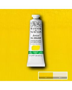 Winsor & Newton Artist Oil Colors - 37ml - Cadmium Free Lemon
