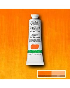 Winsor & Newton Artist Oil Colors - 37ml - Cadmium Free Orange