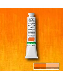 Winsor & Newton Artist Oil Colors - 200ml - Cadmium Free Orange